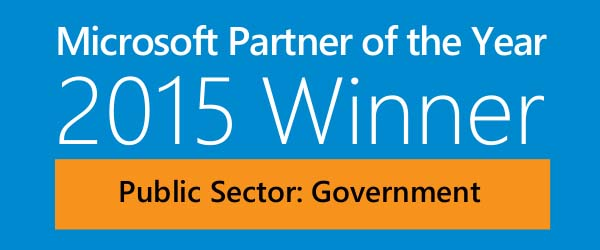 Microsoft Public Sector: Government Partner of the Year