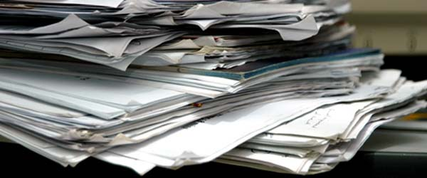 Paper Timesheets