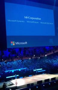 Keynote speech mentioning Mi-Corporation at WPC