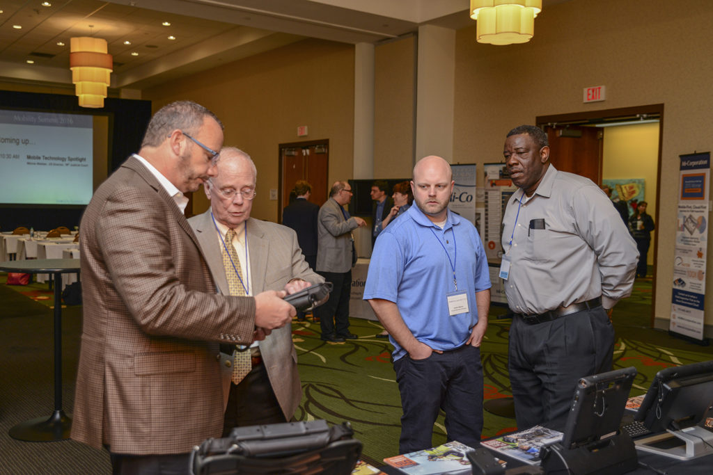 Paul Russo demonstrated Xplore Technology's