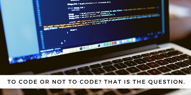 to code or not to code_ what is low coding