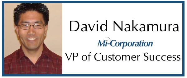 David Nakamura Named Mi-Co's Vice President of Customer Success